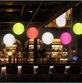 Светодиодная лампа с дистанционным управлением для футбола и ночи  перезаряжаемая лампа для улицы  бара  отеля  спальни  лампа для кровати  ц...