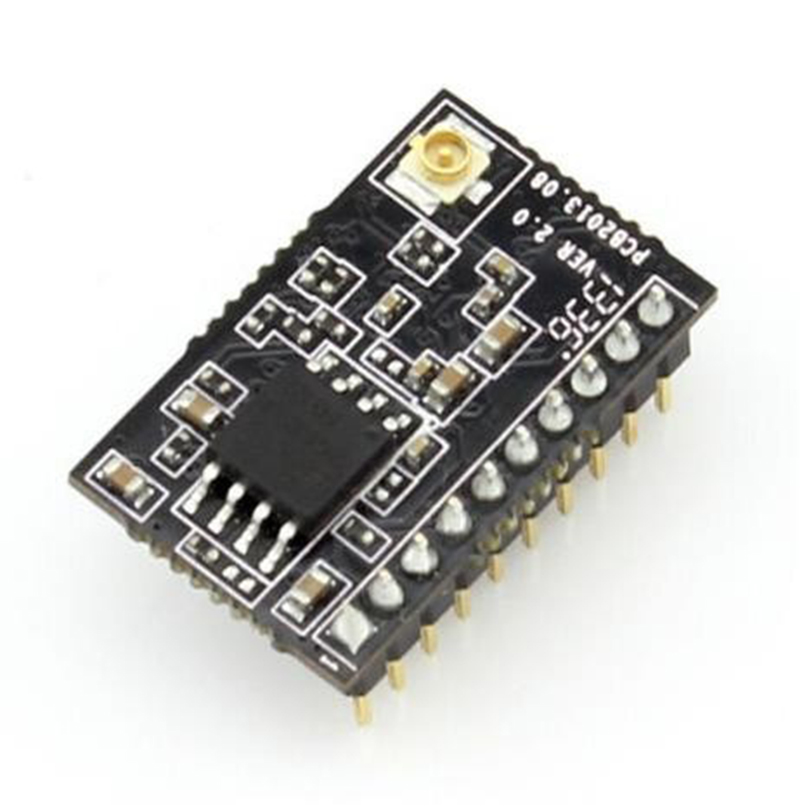 Q014 USR-C215 Tiny Size Uart TTL TO 802.11B/G/N Serial to WIFI Module Support WPS Smart-LINK with External Antenna ttl turn rs485 module 485 to serial uart level mutual conversion hardware automatic flow control
