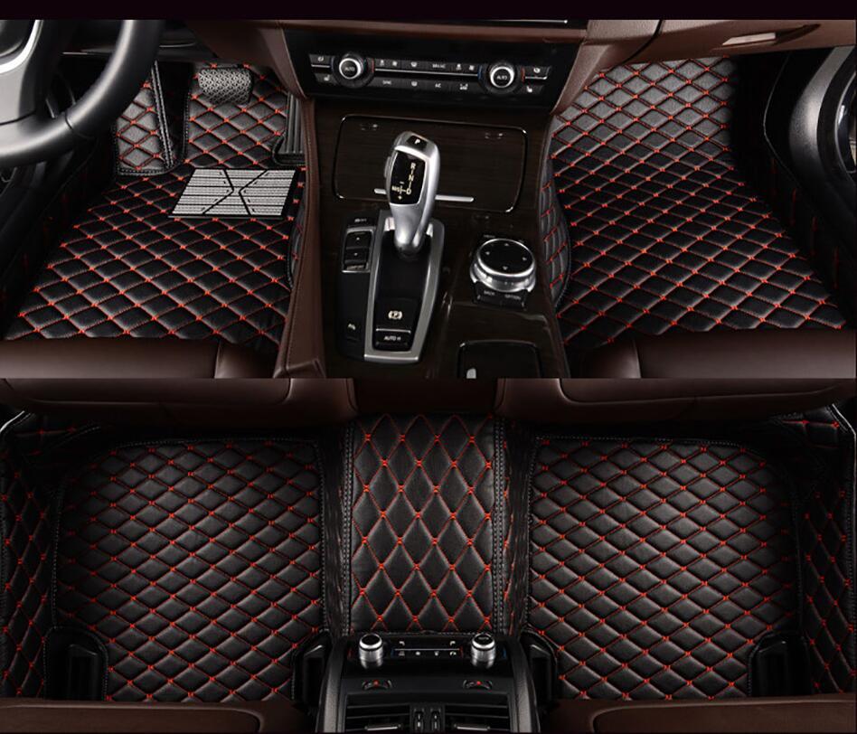 Горячий автомобиль Mili Авто Пол коврик для ног для pajero sport 4 grandis lancer outlander xl 2017 2013 автомобильные аксессуары водонепроницаемый ковер
