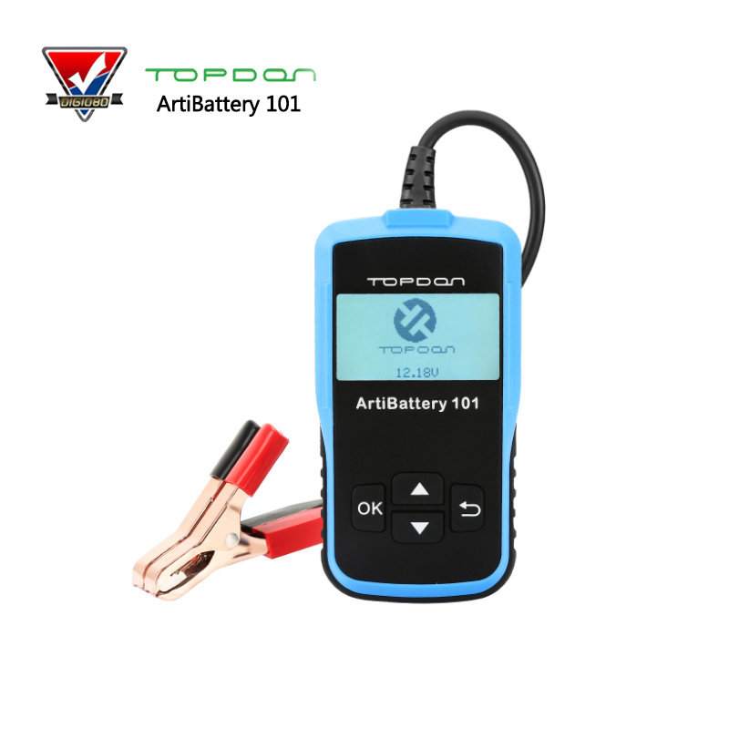 TOPDON ArtiBattery 101 12V Auto Car Battery Tester analyzer Diagnostic-tool ArtiBattery101 100-2000CCA