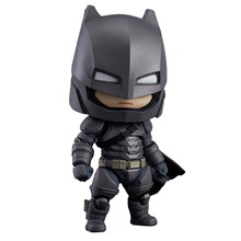 Anime Nendoroid 628 Cute Armor Bat Man in Batman v Superman : Dawn of Justice 10cm Action Figure Toys