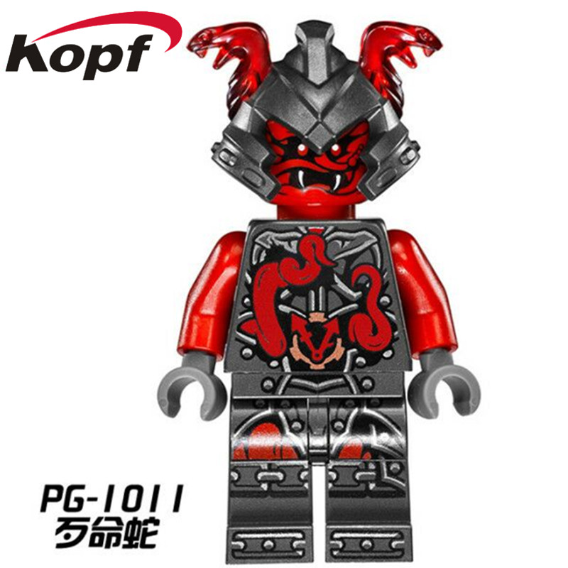 Super Heroes Ninja General Lloyd Ash Master Vermin Sensei Wu The Wei Snake Bronk Zane Building Blocks Children Gift Toys Pg8055 Blocks