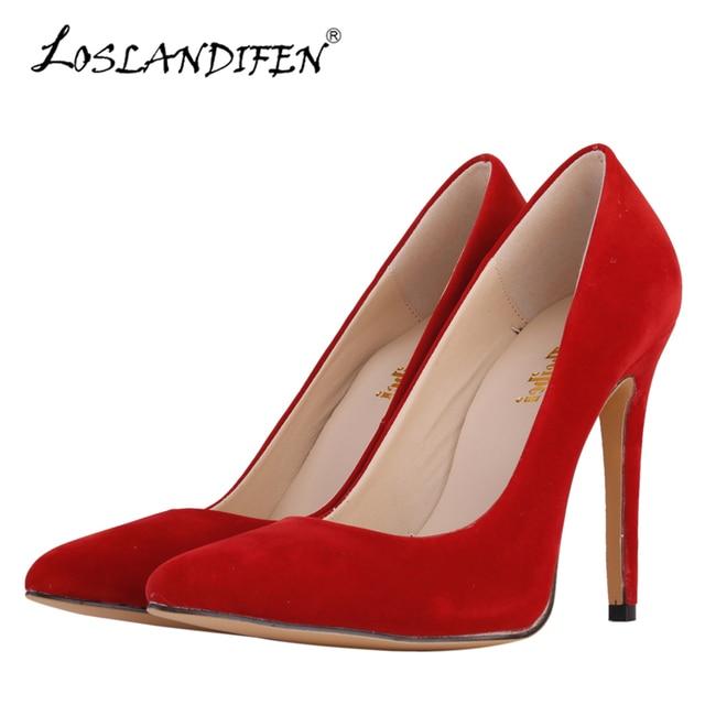fcee3e90768c64 LOSLANDIFEN-Women-Pumps-Flock-11cm-Sexy-High-Heels-Shoes-Fashion-Ladies -Red-Wedding-Shoes-Party-Pointed.jpg 640x640.jpg
