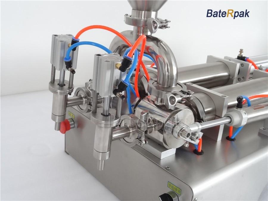 G2 rozsdamentes acél vízszintes pneumatikus folyadék töltőgép, - Elektromos kéziszerszámok - Fénykép 2