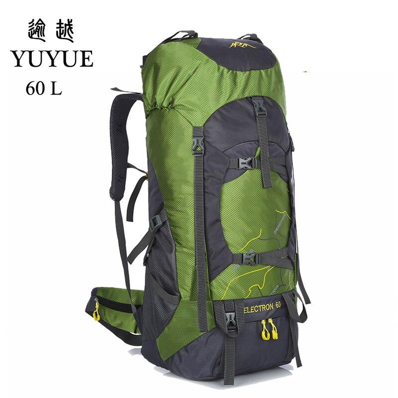 2018 Travel Backpack Sports Bag Beach 60L Waterproof Hiking Backpacks Women Camping Supplies Backpack Camping Equipment Bags 0