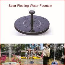 Solar Fountain Pump Water Pumps 180L/H Solar Panel Fountains Waterfalls Floating Water Pump for Birdbath Pool Pond Garden decor