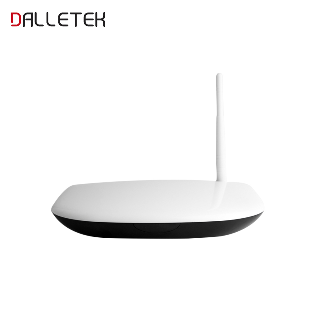 Dalletektv Quad Core Android RAM 1G ROM 8G Smart TV Box Set Top Full HD 1080P Support DLNA 3D Build In Wifi