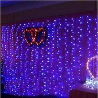 New Year 8X3M Garland LED Christmas Lights Natal Christmas Garlands Decoration LED Curtain String Fairy Lights Luces De Navidad