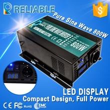 Решетки солнечных инвертор 800 Вт 12 В/24 В/48VDC до 100 В/110 В /120 В/220 В/230 В/240VAC чистая синусоида инвертор генератор конвертер