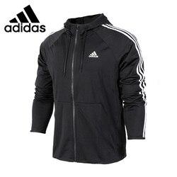 Nuovo Arrivo originale Adidas Prestazioni D2M FELPA CON CAPPUCCIO del rivestimento degli uomini di Abbigliamento Sportivo Con Cappuccio