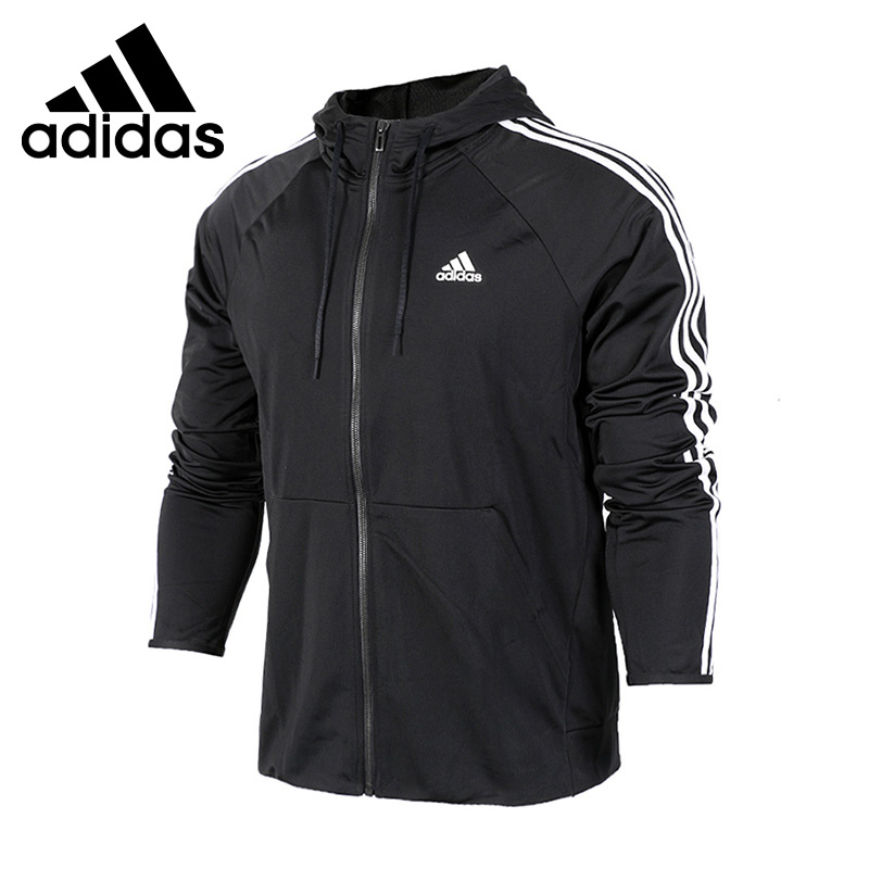 Original New Arrival  Adidas Performance D2M HOODY Men's Jacket Hooded Sportswear