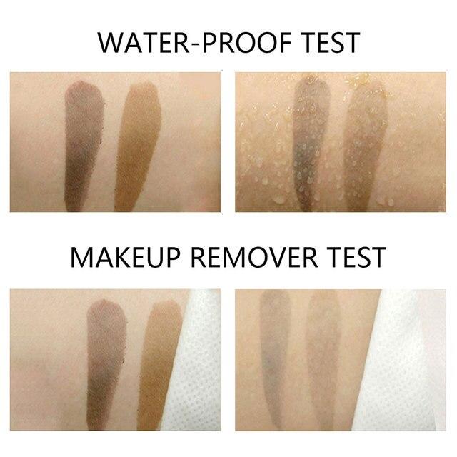 Dighealth Eyebrow Dye Makeup Tools Peel Off Eyebrow Stencil Long Lasting Natural Waterproof Eyebrow Gel Tint Tattoo Mascara 4