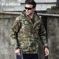 M65 UK US Army Clothes Casual Tactical Windbreaker Men Winter Autumn Waterproof Flight Pilot Coat Hoodie