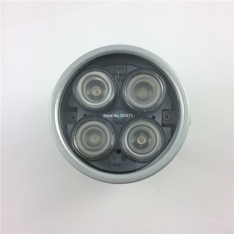 CCTV 4 tableau IR led illuminateur lumière CCTV IR Vision nocturne infrarouge pour caméra de Surveillance avec câble