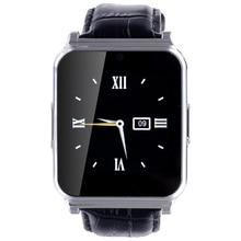 Neue W90 Bluetooth Smart Uhr mit sim-karte Luxus Leder Smartwatch Ritter Full View HD Bildschirm für IOS Android Handys