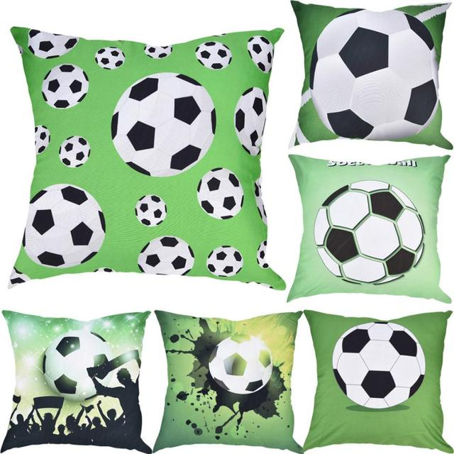 Coppa Del Mondo di calcio Stampa Gettare Pillow Case Soccor series Cuscini Decor