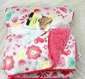Цена по прейскуранту завода 20 стили короткие плюшевые пушистые сова детские двойные одеяла новорожденный swaddleme wrap Супер Мягкие детские bebe cobertor