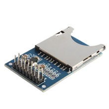 1Pc Socket Reader Card Module Slot  for MP3 for Arduino ARM MCU Read and Write Wholesale Store