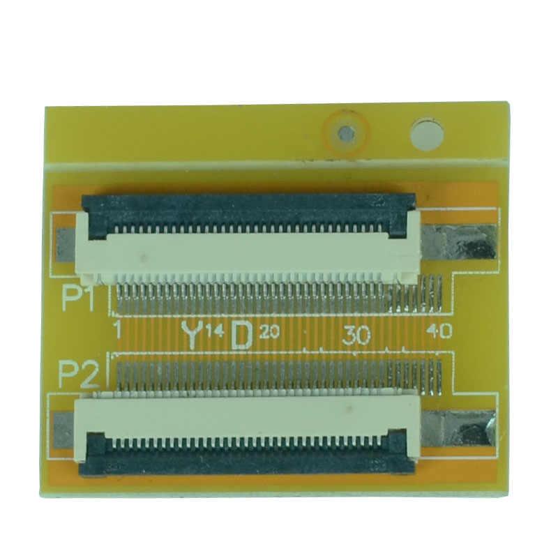 1 шт. Гибкий плоский кабель FFC FPC расширение PCB шаг 0,5 мм 6 P 8 10, 12, 14, 16, 20, 22, 24, 26-30 32 36 40 45 50 54 60 Pin-код