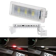 2pcs Car Door Flashing Warning Light for BMW Mini X1 X3 X5 X6 E53 E39 Z8 Z6 Z4 E90 E92 E93 Auto Safety Decor Signal Lamp