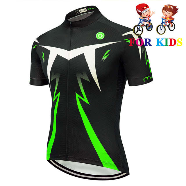 new collection aliexpress size 40 Online Shop Children Breathable cycling jersey short sleeve kids ...
