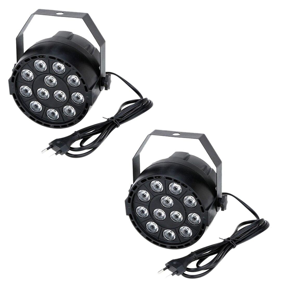 2 x 15W DMX-512 RGBW LED DJ Light Effect Disco Lighting 8 Channel AC 100-240V2 x 15W DMX-512 RGBW LED DJ Light Effect Disco Lighting 8 Channel AC 100-240V