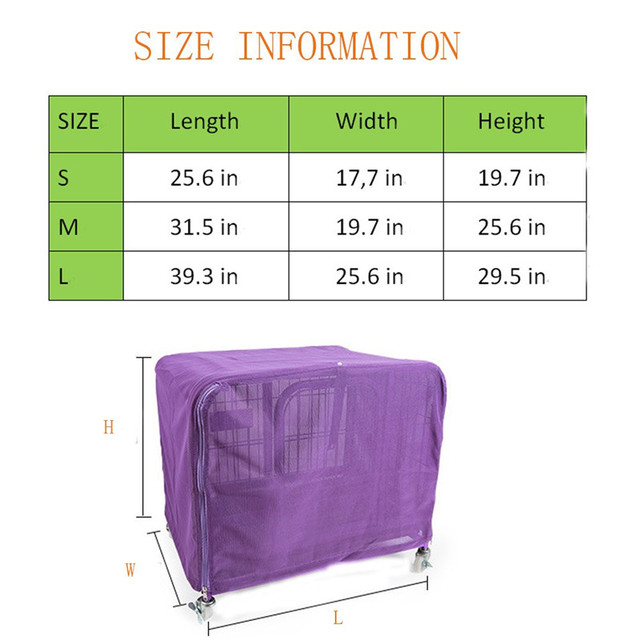 High Quality Mesh Dog/Cat Cage Anti Mosquito  My Pet World Store