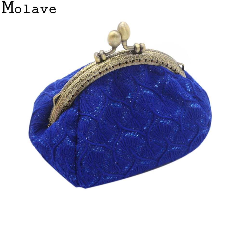 2017 New Fashion Women Retro Vintage Small Wallet Bag Female Sweet Change Key Holder Card Money Portable Clutch Purse Jan22