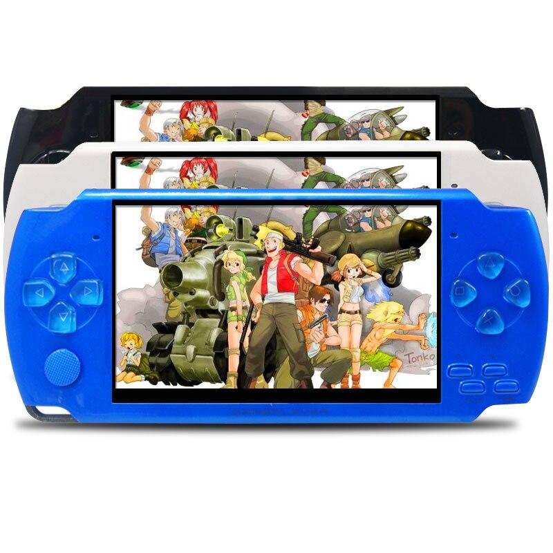 Console de jeu portable mémoire réelle 8 GB jeu vidéo portable construit en mille jeux gratuits mieux que sega tetris