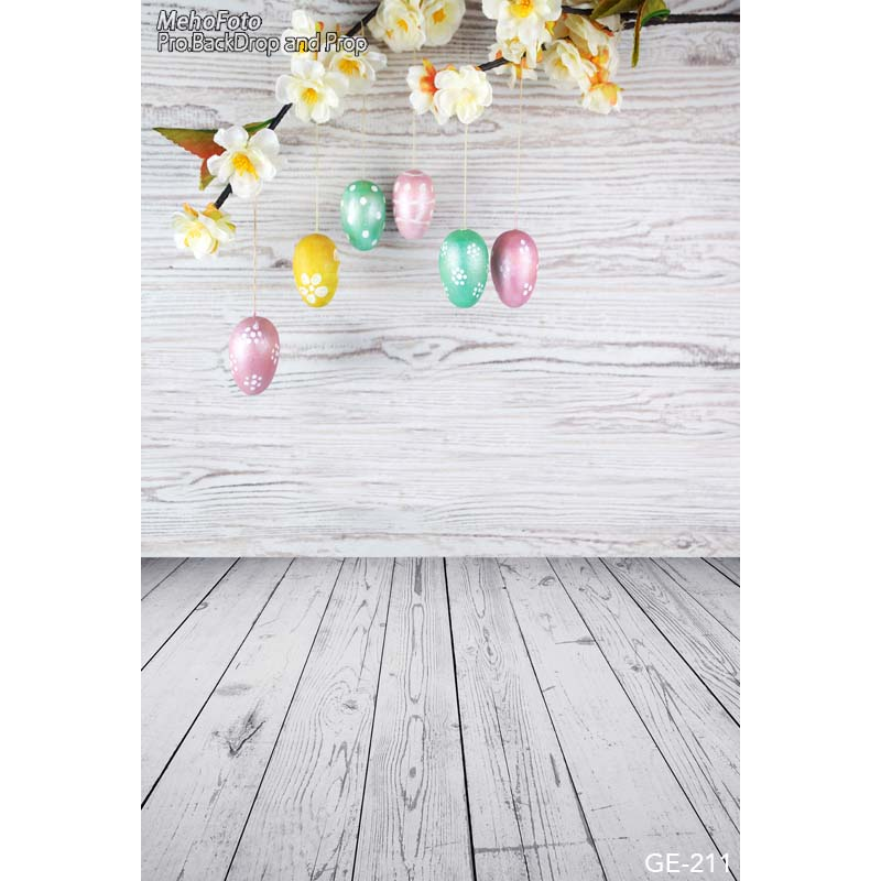 Easter eggs photo background wooden wall photography backdrops for photo studio vinyl printing photographic backgrounds wooden floor and brick wall photography backdrops computer printing thin vinyl background for photo studio s 1120