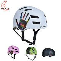 MOON Hot Sale Men Women Adult Safety Ski Helmet Integrally Molded Skating Helmet Skateboard Helmet Snowboard