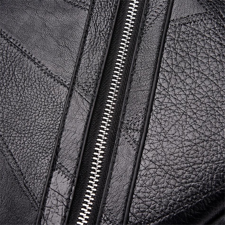 alta qualidade jovens mochilas de couro para