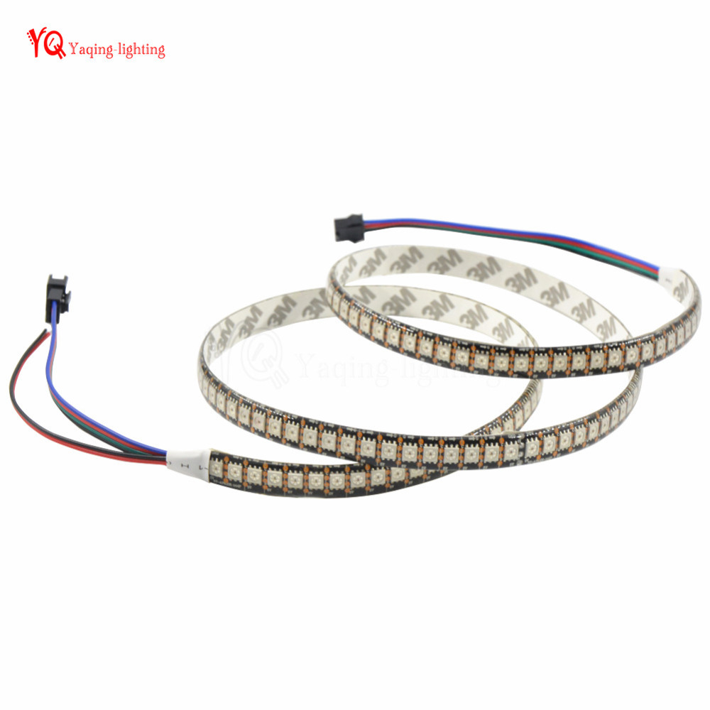 10x1m APA102 144 LEDs LED Strip Waterproof IP65 Black/White PCB 5050 smd APA102-C pixels addressable RGB full color magic DC5V 10pcs lockless 0 5a 250v ac momentary on off 2 pin push button spst mini switch red