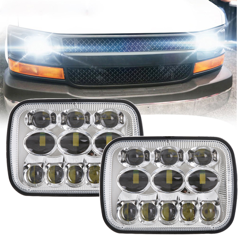 TNOOG DOT EMARK 5x7Inch LED Truck Headlight for Chevrolet Express 3500, for Chevrolet Express 1500, for Chevrolet Astro 6x7 LED держатель крестообразный r 45 для d 25