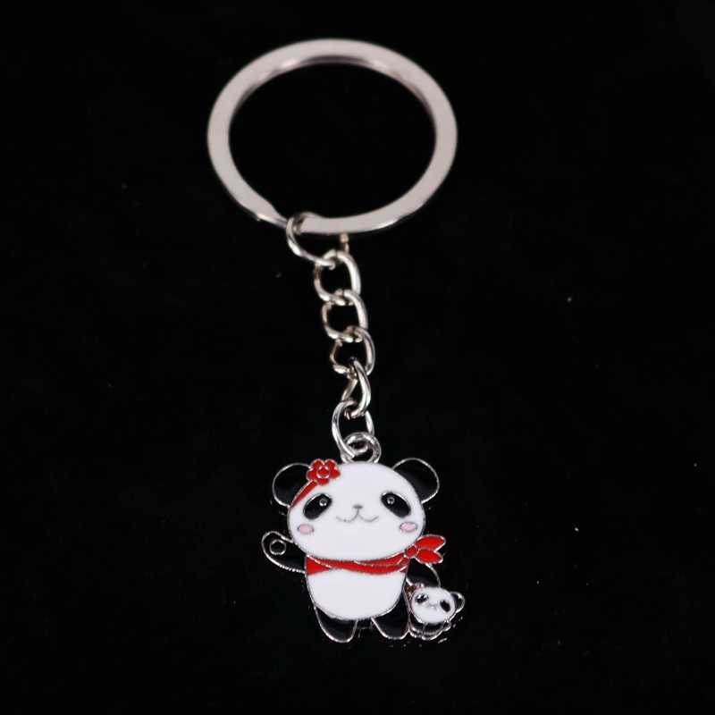 "1 шт. Подарочное кольцо для ключей ""Панда"" брелок ко Дню Святого Валентина брелок кольцо"
