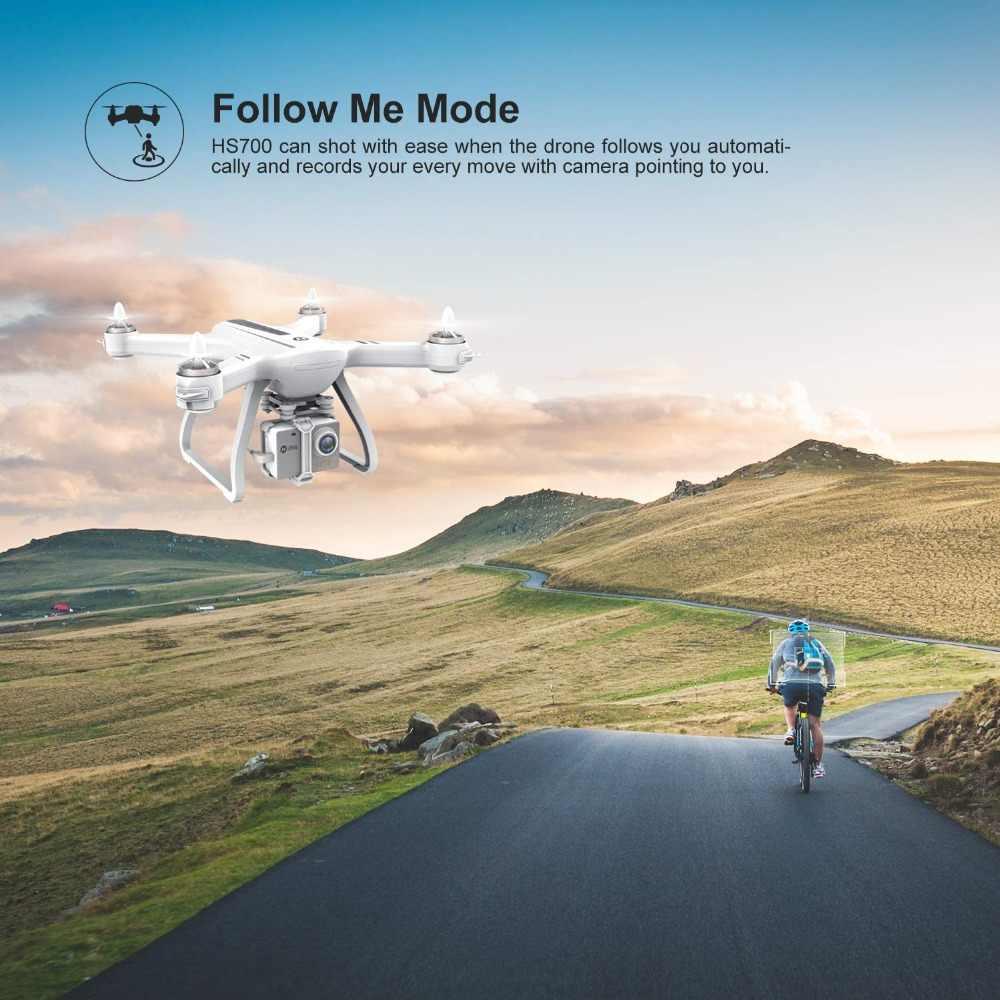 Holy stone HS700 Drone Profissional helikopter rc FPV GPS 5G 1080P FHD Wi-Fi dron z kamerą 1KM bezszczotkowy silnik 2800mAh