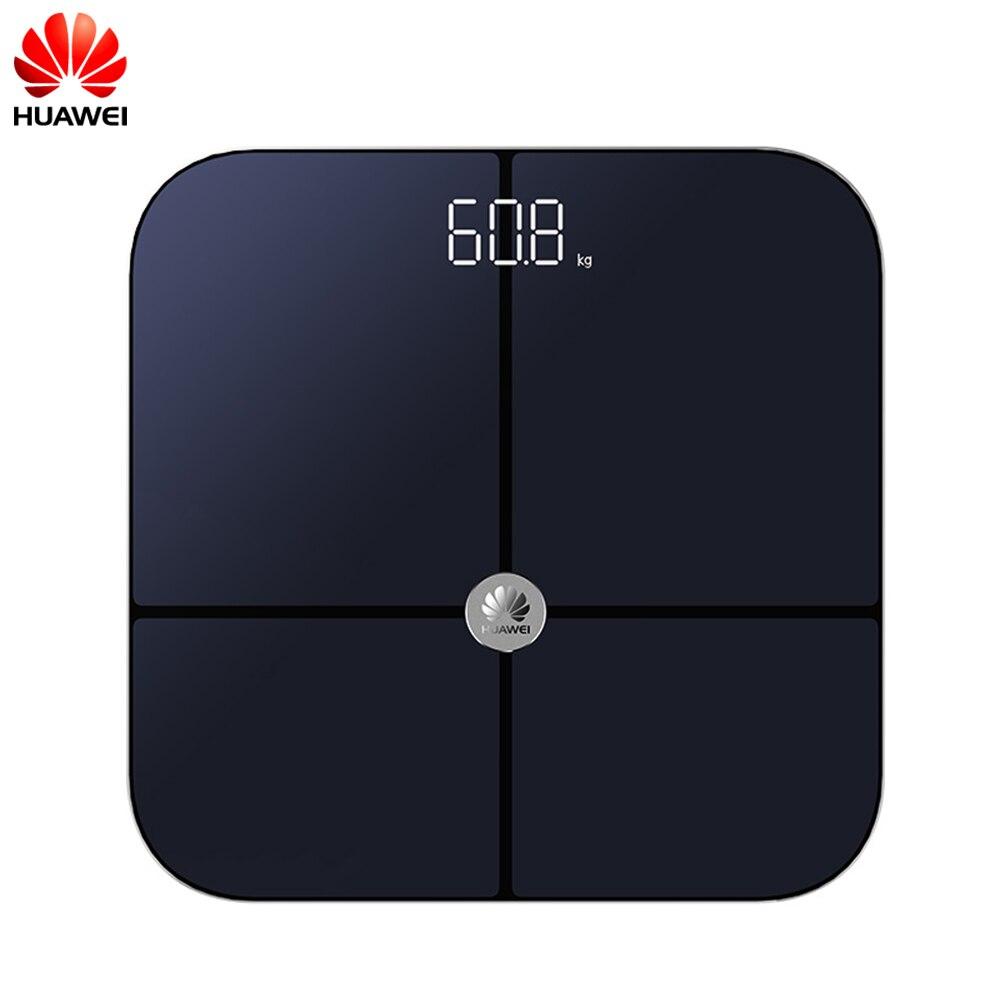 Honneur chaud Huawei balances poids salle de bains Balance étage intelligent Bluetooth Balance corporelle humain b mi mi graisse Balance 150 kg