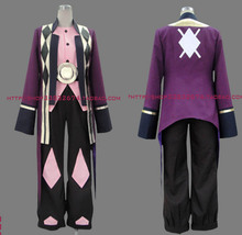 Tales of Vesperia Raven Cosplay Costume hero set coat+underwear+pant set