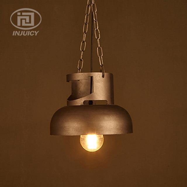 Loft Industrial Gas Jar Edison Vintage Pendant Lights Theme Bar Cafe Restaurant Lighting Counter Dining