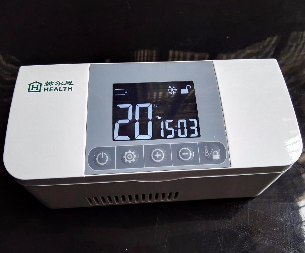 Home ues Portable mini insulin cooler box Portable Drug Reefer Car Small Refrigerator Insulin storage box 2016 New Product