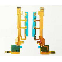 Post Tracking Mobile phone power off/on Volume flex cable for Sony Xperia Z L36H C6602 C66033 S0-02E, Power flex cable