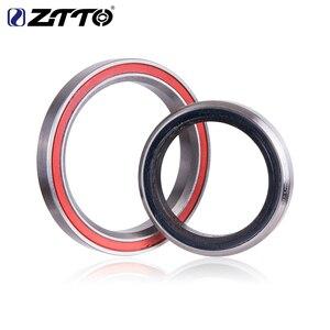 """Image 4 - ZTTO MTB bisiklet kulaklık 44mm ZS44 EC44 CNC 1 1/8 """" 1 1/2"""" düz tüp çerçeve konik tüp çatal 1.5 adaptörü kulaklık 4444T"""