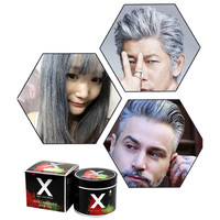 New Fashion Hair Wax Coloring 8 Colors for Choosing Mud Dye Cream Temporary Hair Dye Modeling Hair Care Styling Tools for Unisex Health & Beauty