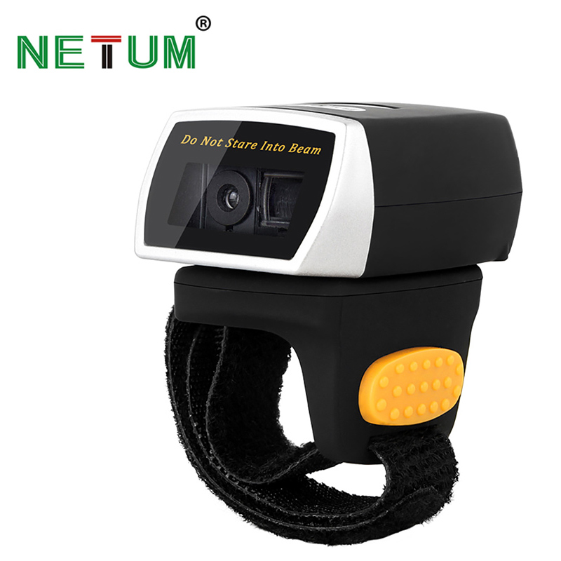 NETUM Z2S Bluetooth 2D Barcode Scanner & R3 Wearable Bluetooth Ring CCD Barcode Scanner Scanning Bar Code Code Reader