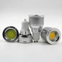 3W 5W 7W 9W 10 12W COB Dimmable Gu10 LED spotlight bulb E27 E14 Gu5.3 Spot Light Dimmable AC85-265V LED Gu10 Downlight
