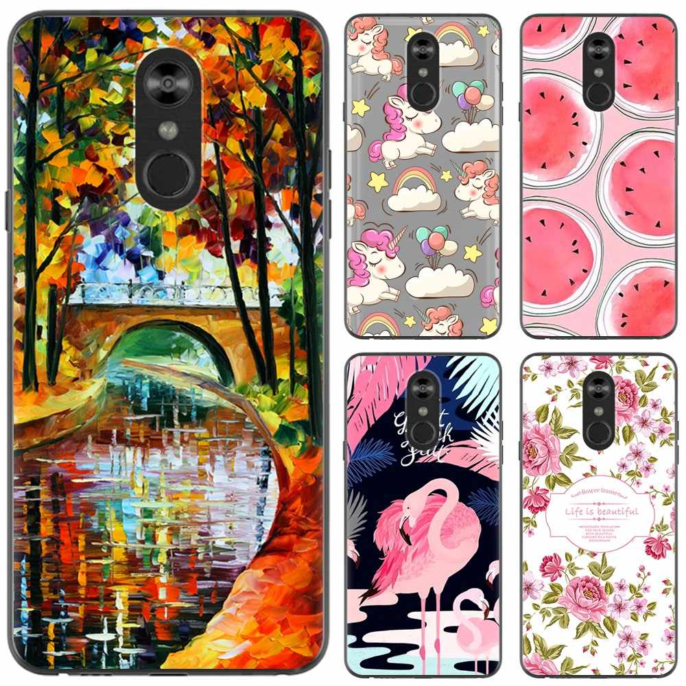 New Arrival Phone Case For LG Stylo 4 6.2-inch Fashion Design Art Painted TPU Soft Case
