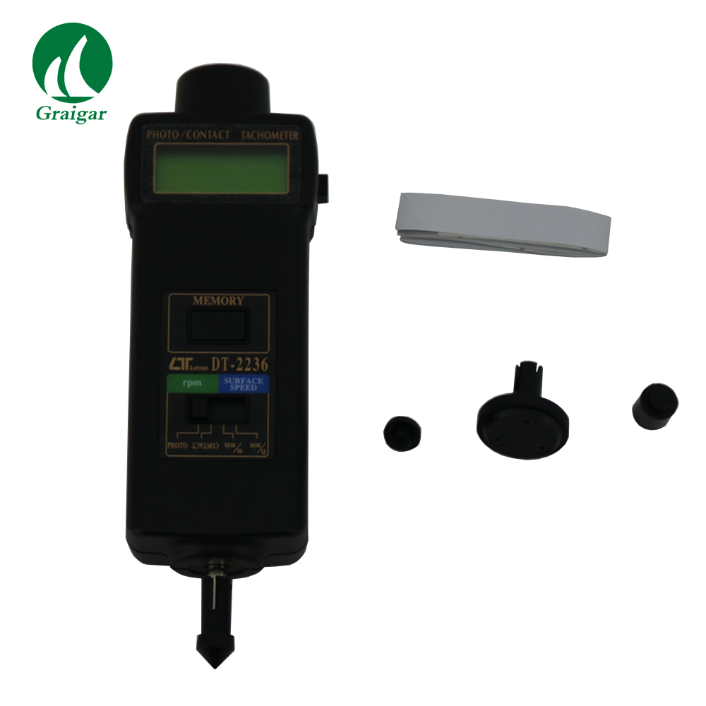 DT2236 Multifunctional, one instrument combines PHOTO TACH& CONTACT TACH - 2
