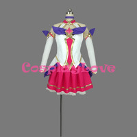 New Custom Made American Game LOL Star Guardian Magic Girl The Nine Tailed Ahri Cosplay Costume