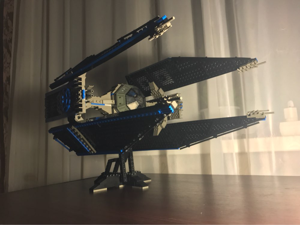 lepin 05044 Limited Edition Star wars The TIE Interceptor model Building Blocks Bricks boys Toys kid gift set christmas xmas new mf8 eitan s star icosaix radiolarian puzzle magic cube black and primary limited edition very challenging welcome to buy