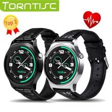 Torntisc Nueva GW01 Reloj Inteligente Bluetooth IPS Pantalla Redonda de la Vida A Prueba de agua Deportes smartWatch Para huawei Android IOS de apple Teléfonos